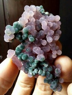 Grape agate-looks like moldy grapes!... But it's beautiful