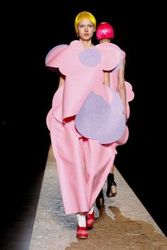 Comme Des Garcons Autumn (Fall) / Winter 2012. Pinned as inspiration for shape of garment, reminiscent of minerals and rocks.