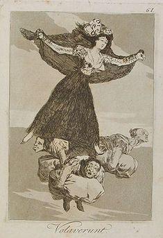 'Volavérunt': Goya
