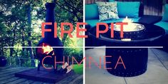 Fire Pit vs Chimnea Pros & Cons. What's the Difference?