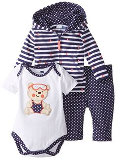 Vitamins Baby Baby-Girls Newborn Happy Bear 3 Piece Jacket Pant Set, Navy, 6 Months Vitamins Baby http://www.amazon.com/dp/B00O1QHXAO/ref=cm_sw_r_pi_dp_u1g3wb02PHXAS
