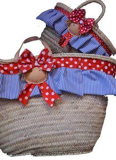 toallas y capazos personalizados - Buscar con Google Ideas Para, Magnolia, Picnic, Christmas Ornaments, Holiday Decor, Google, Home Decor, Canvas, Feltro