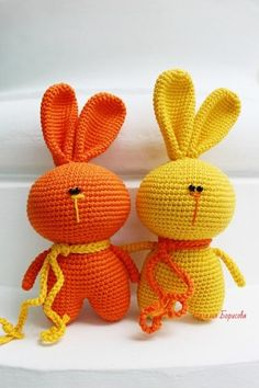 Mesmerizing Crochet an Amigurumi Rabbit Ideas. Lovely Crochet an Amigurumi Rabbit Ideas. Crochet Bunny Pattern, Crochet Rabbit, Crochet Teddy, Crochet Animal Patterns, Crochet Patterns Amigurumi, Cute Crochet, Amigurumi Doll, Crochet Dolls, Crochet Animals