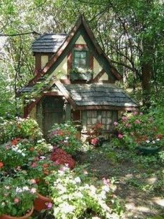 Future House, My House, Fairytale Cottage, Garden Cottage, Fairytale Bedroom, Forest Cottage, Witch Cottage, Different Aesthetics, Cottage In The Woods