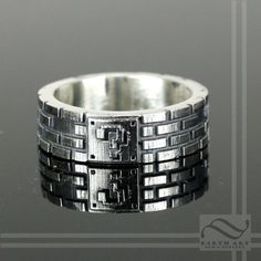 Super Mario Bros Brick Ring by mooredesign13 on Etsy, $160.00