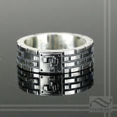 Super Mario Bros Brick Ring by mooredesign13 on Etsy, $160.00