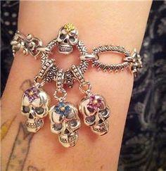 Beautiful Bixby gemstone skulls from Bixby Designs