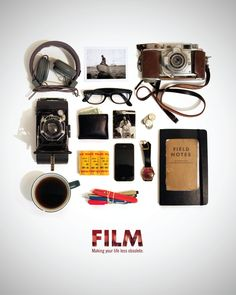 film. As a film student in chicago I feel the only thing missing from this is a pack of cigarettes