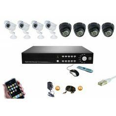 Pour filmer et surveiller votre maison à l'extérieur et à l'intérieur, de jour comme de nuit. Optez pour un pack de 4, 8 ou 16 caméra. Vous ne raterez pas une miette! Camera Surveillance, Comme, Mixer, Music Instruments, Film, Night, Home, Movie, Film Stock