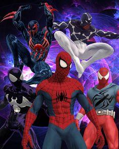 #Spiderman #Fan #Art. (Spider-Man: Shattered Dimensions) By:Lee Homer. (THE * 5 * STÅR * ÅWARD * OF: * AW YEAH, IT'S MAJOR ÅWESOMENESS!!!™)[THANK Ü 4 PINNING!!!<·><]<©>ÅÅÅ+(OB4E)
