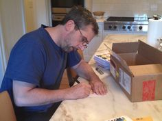 Steve Carell signing stuff for his store. Steve Carell, Store, Larger, Shop