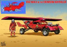 Veja personagens como Dick Vigarista, Penélope Charmosa e a Quadrilha da Morte redesenhados pelo designer Mark Sexton no mais puro estilo Mad Max. Confira!
