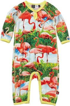Flamingo Suit (Fiona) from the Molo Kids Spring/Summer 13 collection. 'tis a head-turner...