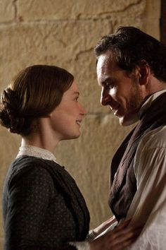 Picture: Mia Wasikowska and Michael Fassbender in 'Jane Eyre.' Pic is in a photo gallery for 'Jane Eyre' featuring 32 pictures. Mia Wasikowska, Michael Fassbender, Jane Eyre Movie, Jane Austen, Jane Eyre 2011, Charlotte Bronte Jane Eyre, Bronte Sisters, Great Novels, Amazon Prime Video