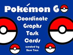 There's Zubat! There's Pikachu! There's a portal!Pokemon GO is all about catching Pokemon! But this recent phenomenon can also be used to catch your students' attention in math! This task card activity blends the Pokemon GO game and coordinate graphing together.