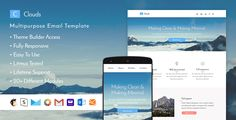 Clouds - Responsive Email + StampReady Builder