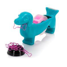 Dispensador de cinta adhesiva Perro Salchicha