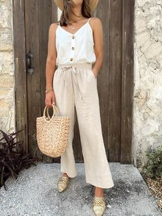 Chic spring and summer outfit #springootd #easystyle