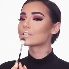 makeup video 😱😍🙌🏻 Love this look! Makeup 😱😍🙌🏻 Love this look! Makeup 101, Makeup Goals, Skin Makeup, Makeup Inspo, Makeup Inspiration, Makeup Hacks, Hair Hacks, Perfect Makeup, Gorgeous Makeup