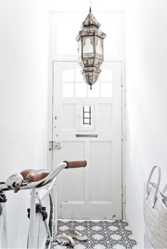 Moroccan Style Inspiration in White by sonya