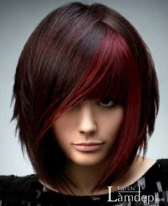 Medium Length Red Hairstyles