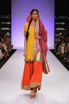Gaurang Shah. Lakme Fashion Week 2014