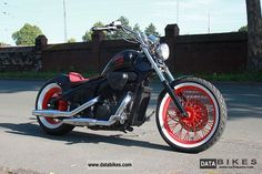 1993 Honda  VT 600 Shadow Custom Bobber Motorcycle Chopper/Cruiser photo