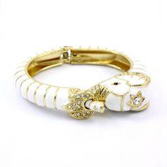 white elephant bangle