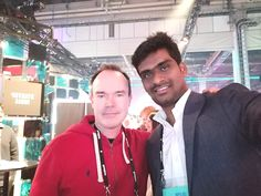 When Ujwal Surampalli, founder of InterviewBuddy met the incredible the developer of Angry Birds, and founder of Slush Angry Birds, Finland, Interview, The Incredibles, Face, Faces, Facial