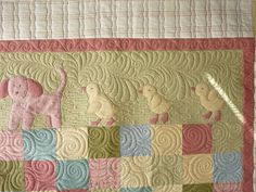 Sewing & Quilt Gallery: Sweet Flannel Baby Quilt