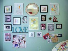 O belo dos meus olhos: Uma sala colorida!!