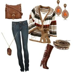brown beauty, created by dominirican77 on Polyvore