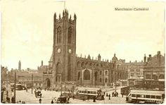Manchester Cathedral in 1903