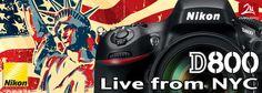 Prova sul campo della nuova Nikon D800 direttamente da New York