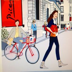 Work in progress #angelinemelin #illustration #paris #illustratrice #fashiondrawing