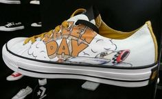 7a1307ee62f8a8 Green Day x Converse Chuck Taylor - Dookie. Celebrating 20 years of Dookie  with this Chuck Taylor.