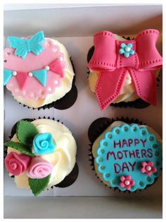 Happy Mother's Day cupcakes!