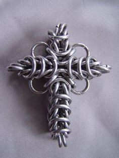 Chain Maille Cross by ~Imbrium66