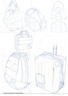 Drawings by Joris Smeuninx at Coroflot.com #id #product #sketch