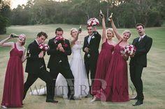 #wedding #pinkbridesmaids