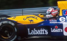 ... фото nigel mansell, f1, season 1992, gp hungarian, williams, fw14b