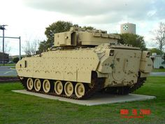 M2 Bradley AFV of the 4th ID at Ft Hood, TX