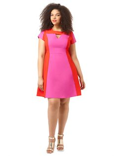 Super Pop Dress by @citychiconline, Available in sizes XS-XL