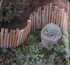 DIY bamboo fencing: an excerpt from a favorite garden book