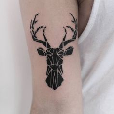 From this morning, thanks man!  #tattoo #tattoos #ink #inkd #custom #custominc #darkartists #skinxart #blacktattoos #flashworkers #blackworkers #supportgoodtattooers @tattoosuppliesuk #onlyblackart #dotworkers #lineworktattoo #stag #geometrictattoo #geometric #naturetattoo #armtattoo #btattooing #blacktattooart #blackworksubmission #tttism #paigedavidson
