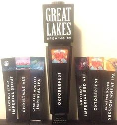 #Great lakes #brewing multi-brand beer tap handle w/all #inserts/new in box,  View more on the LINK: http://www.zeppy.io/product/gb/2/171965890526/