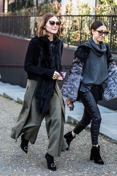 Olivia palermo super-chic street style for winter Olivia Palermo Outfit, Style Olivia Palermo, Olivia Palermo Lookbook, London Fashion Weeks, Vogue Paris, London Stil, Mode Boho, Street Style Summer, Casual Winter Outfits