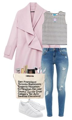 """""""Going places."""" by krys-imvu ❤ liked on Polyvore featuring Vince, M.i.h Jeans, Ted Baker, L'Occitane, Lancôme, Guerlain, Stila, Chicnova Fashion and adidas Originals"""