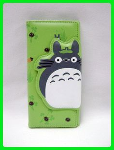 Totoro: Green Totoro Clasp and Clutch Wallet - Wallets (*Amazon Partner-Link)