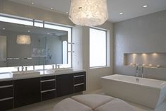 Modern Horseshoe Bay - Modern - Bathroom - Vancouver - by LOTOS Construction -http://www.thewelcomehouse.org/small-bathroom-lighting-fixtures/